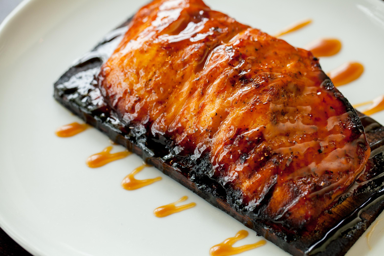 Cedar-Planked Salmon*