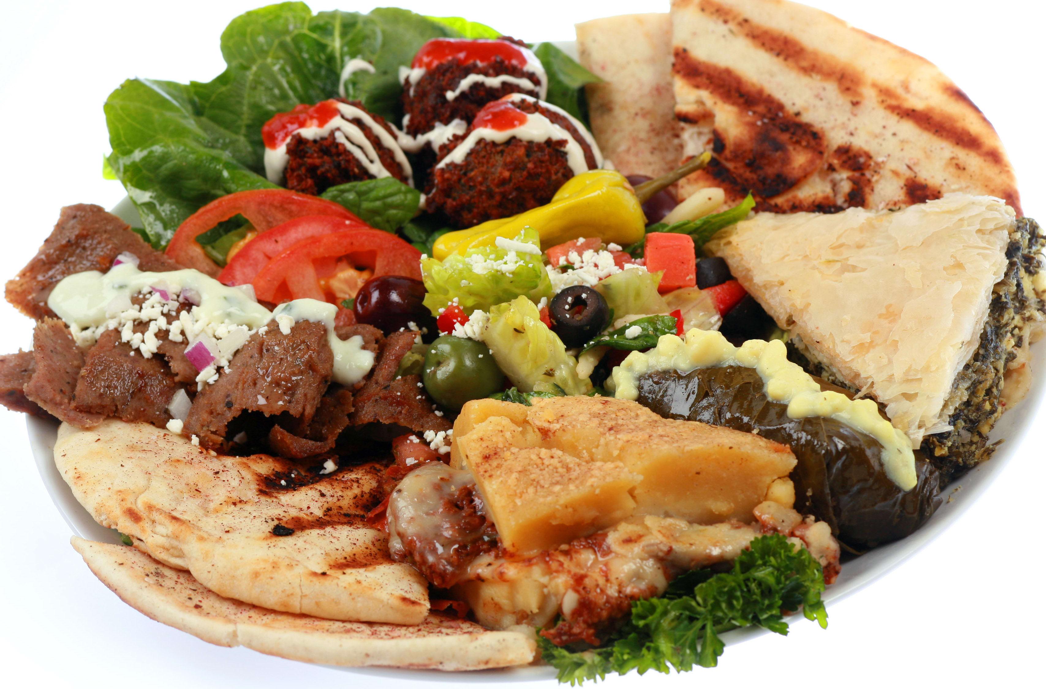 Mediterranean Feast at Mediterranean Cafe