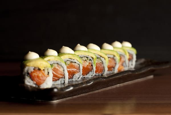 Sushi Rolls at Roka Akor Restaurant