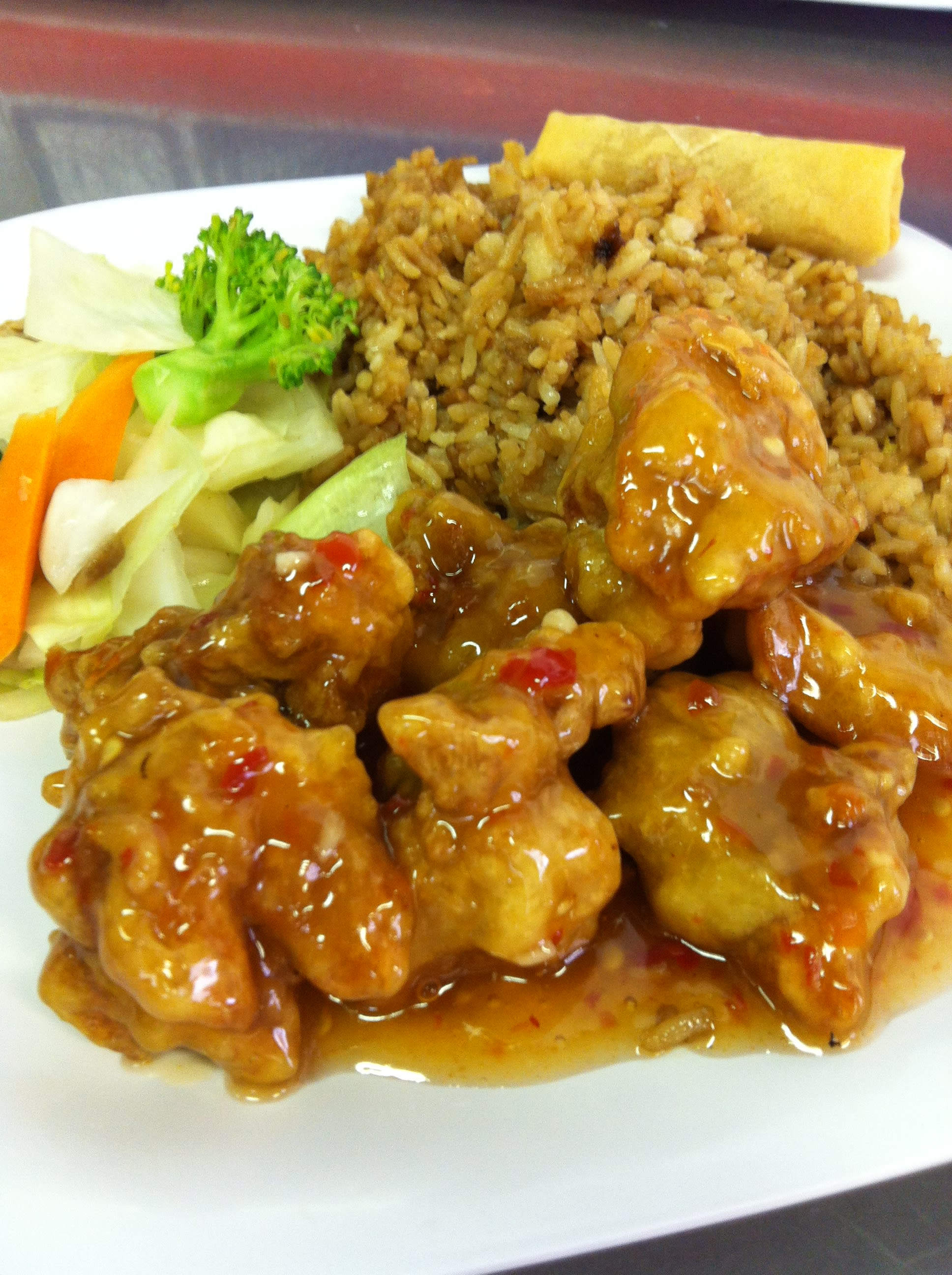 General Tso's Chicken at Uncle Chien's Chinese & Thai Restaurant