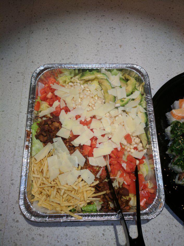 Small Chopped Salad at Ruckus Pizza, Pasta, & Spirits