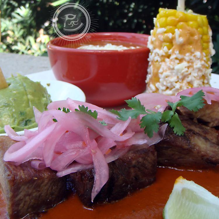 Bistec a la Mexicana at Red Mesa