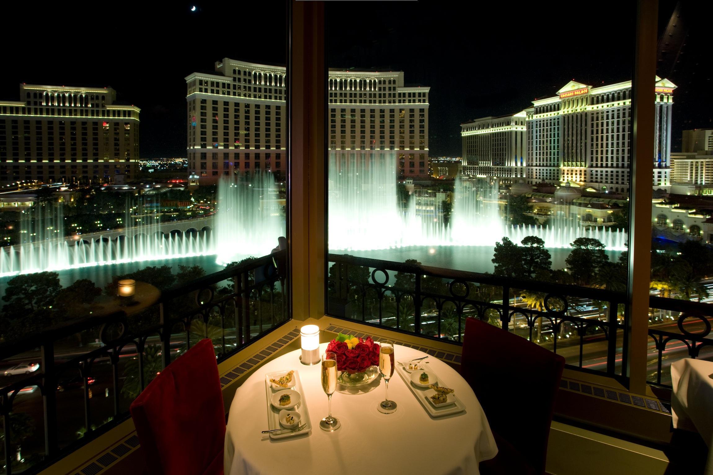 Best Views in Vegas at Eiffel Tower