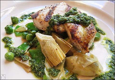 Grilled Swordfish at Palio D'Asti