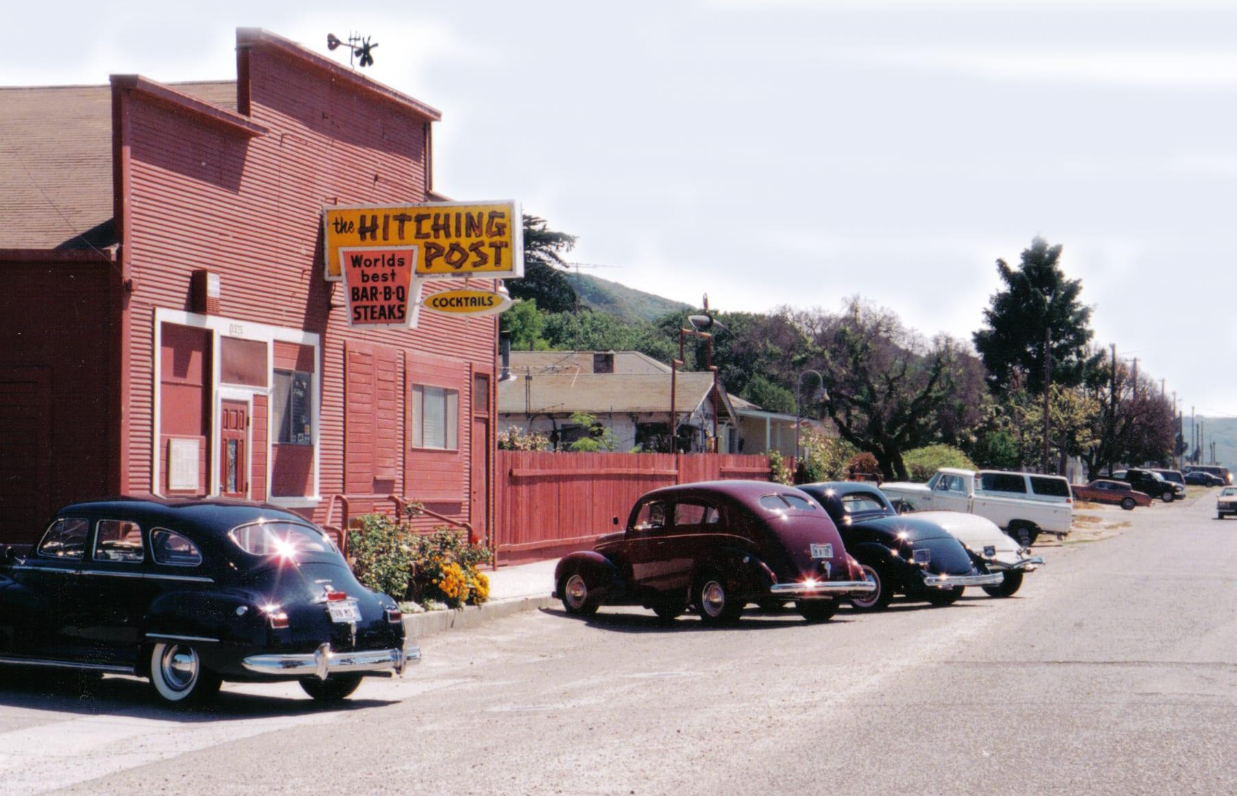 Santa Barbara County Historical Landmark at Hitching Post