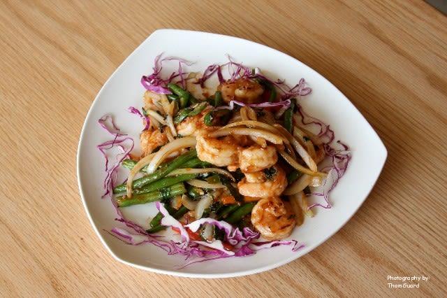 Shrimp Thai Basil & Chili at Good Fortune