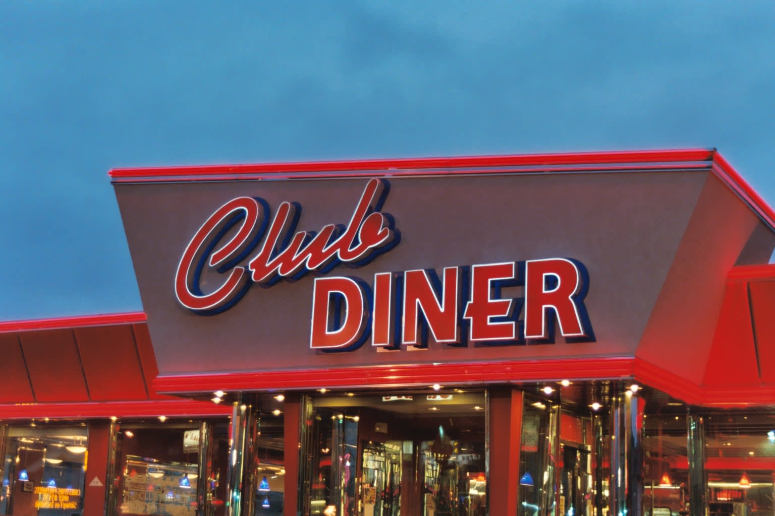 Front at Club Diner