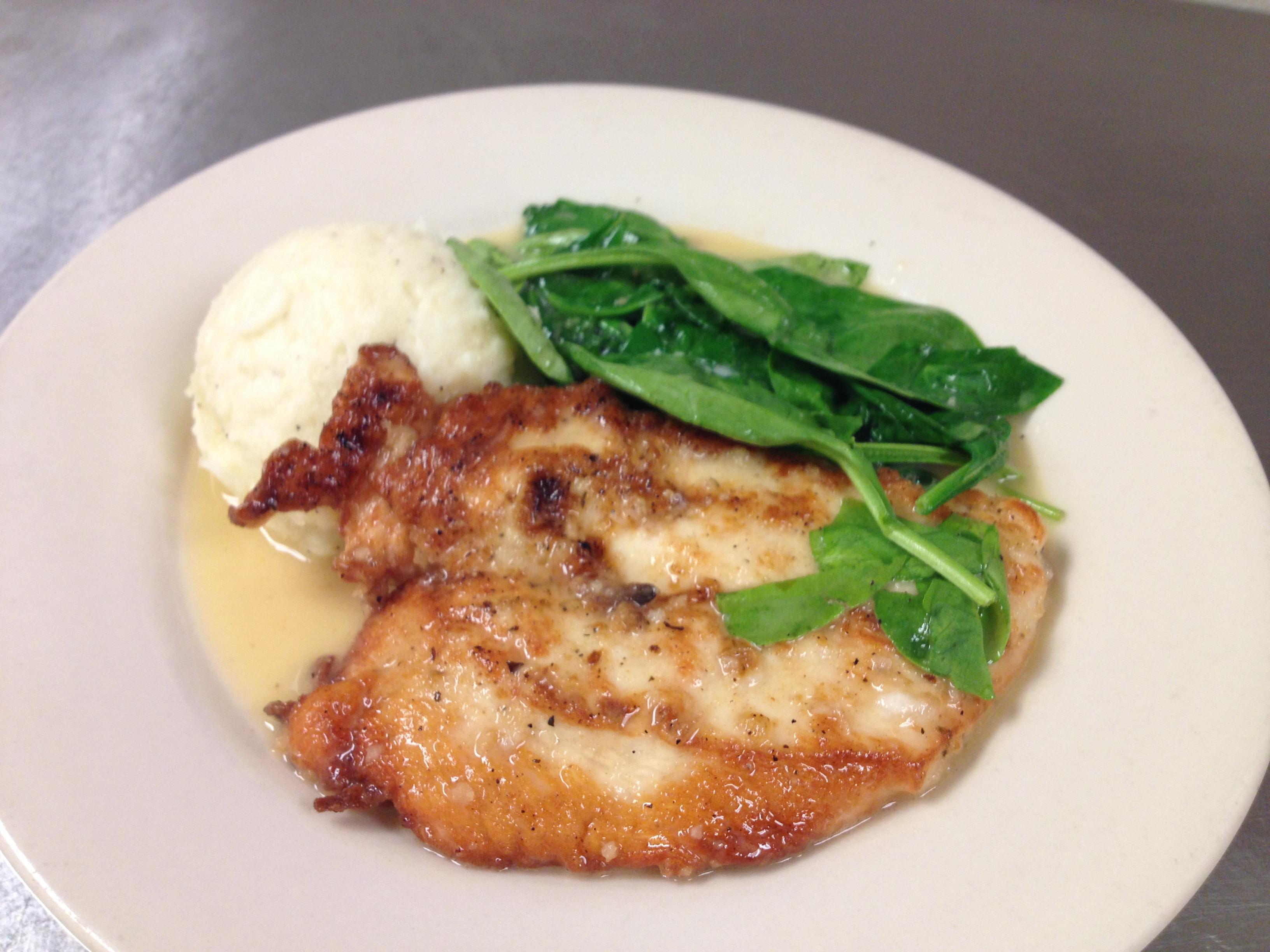 Lemon Chicken at Sir Edmond Halley's