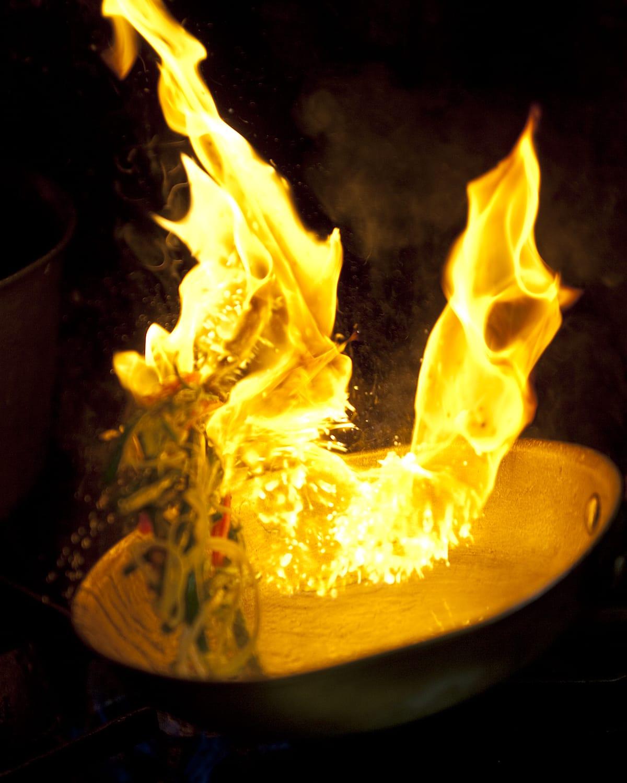 Flame at Devil's Den