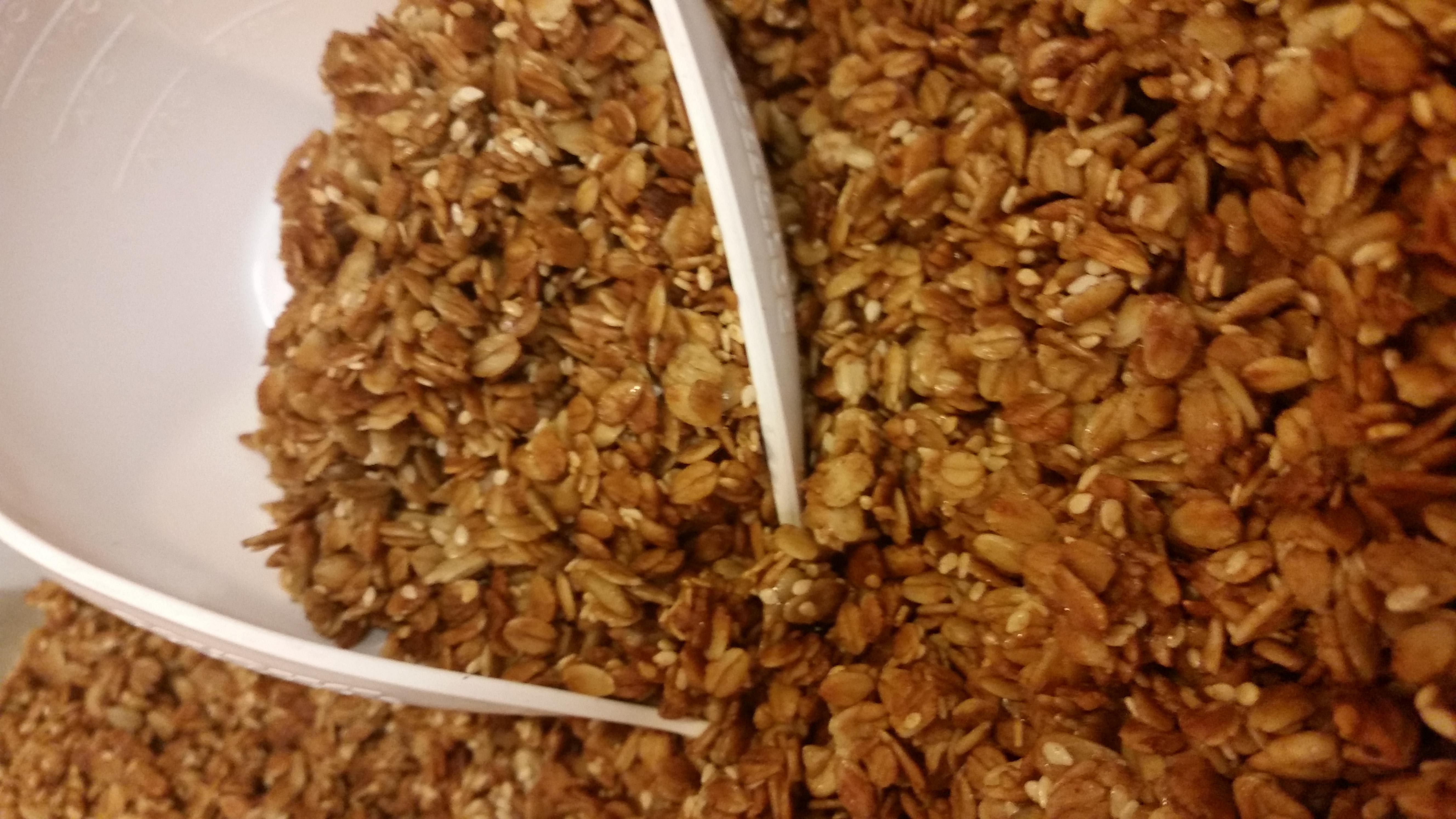 Homemade Simply Granola, Gluten Free at South Street Creamery Cafe
