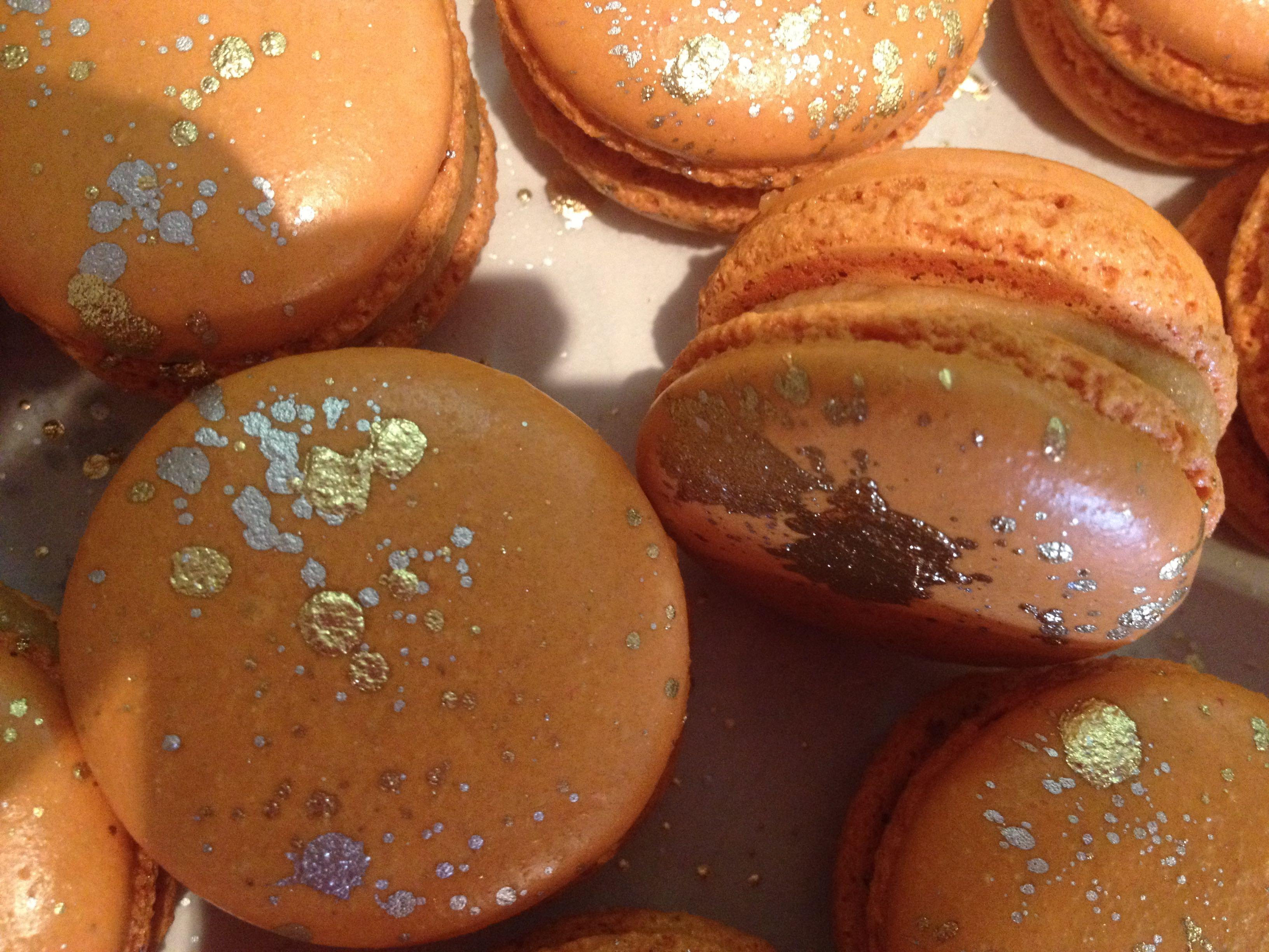 Salted Caramel Macarons at Michele Coulon Dessertiere