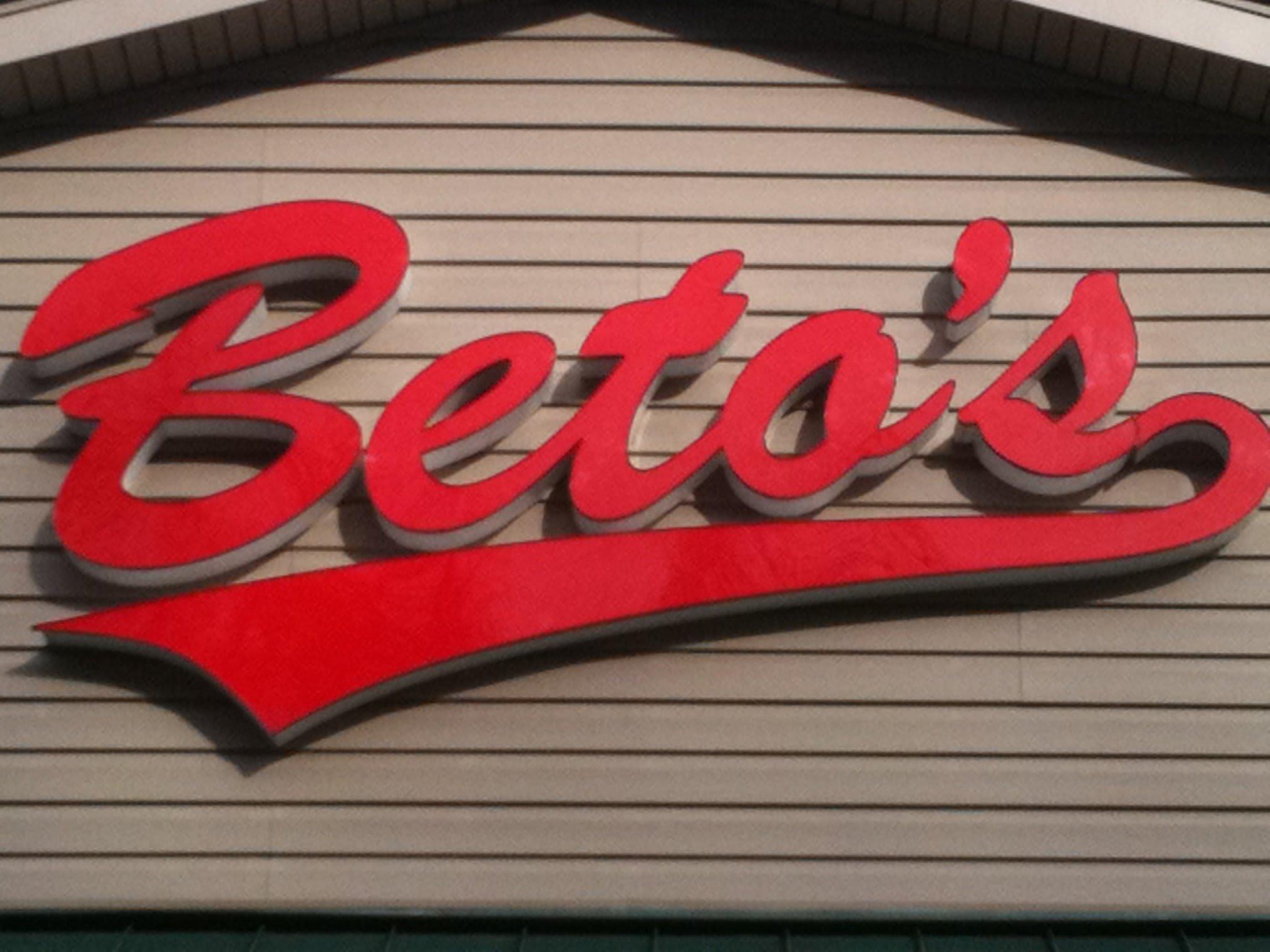 betos at Beto's Pizza & Restaurant