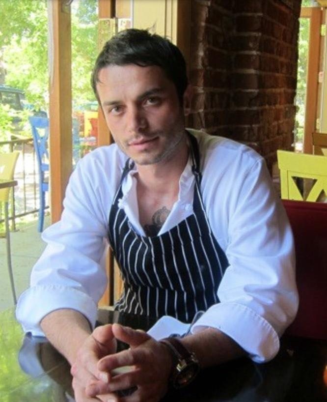Chef Valentino Ujkic at Vivaldi