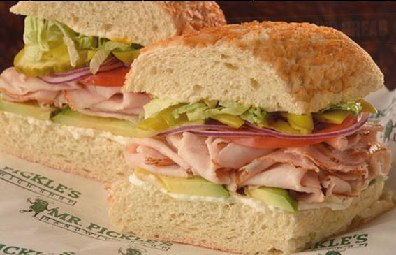 Photo at Mr. Pickles Sandwich Shop