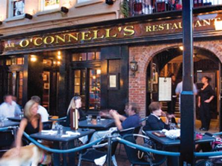 cover at Daniel O'Connell's Restaurant