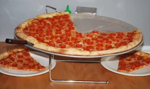 123 at Stark Naked Pizza