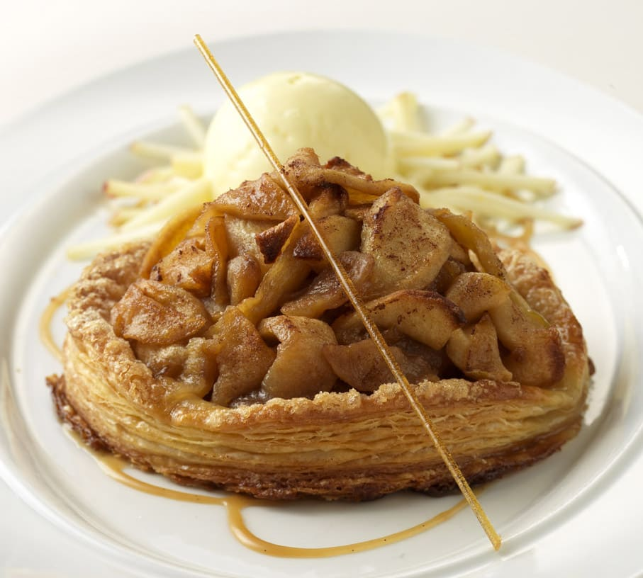 Michigan Apple Pie at Benny's Chop House