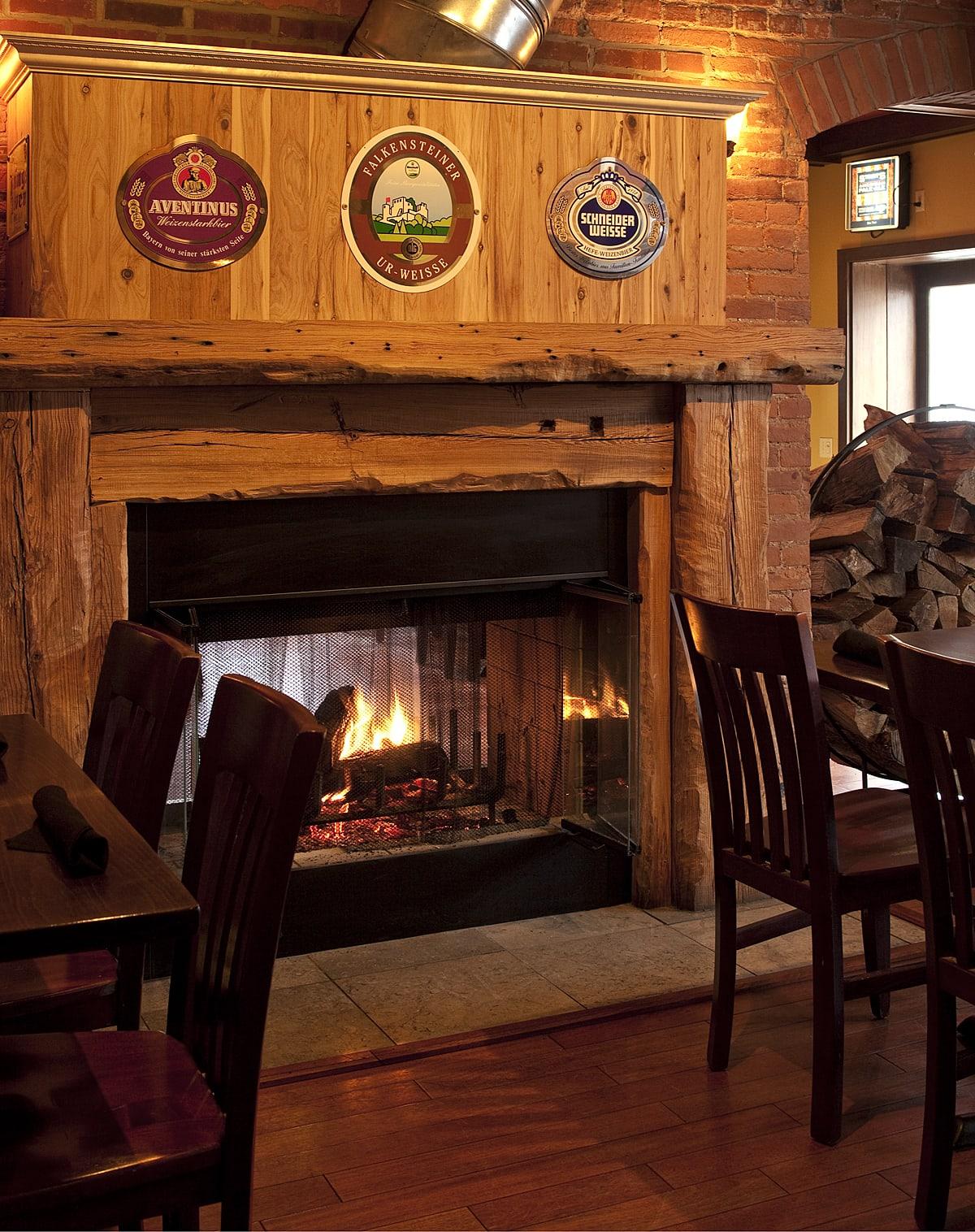 Fireplace at Devil's Den