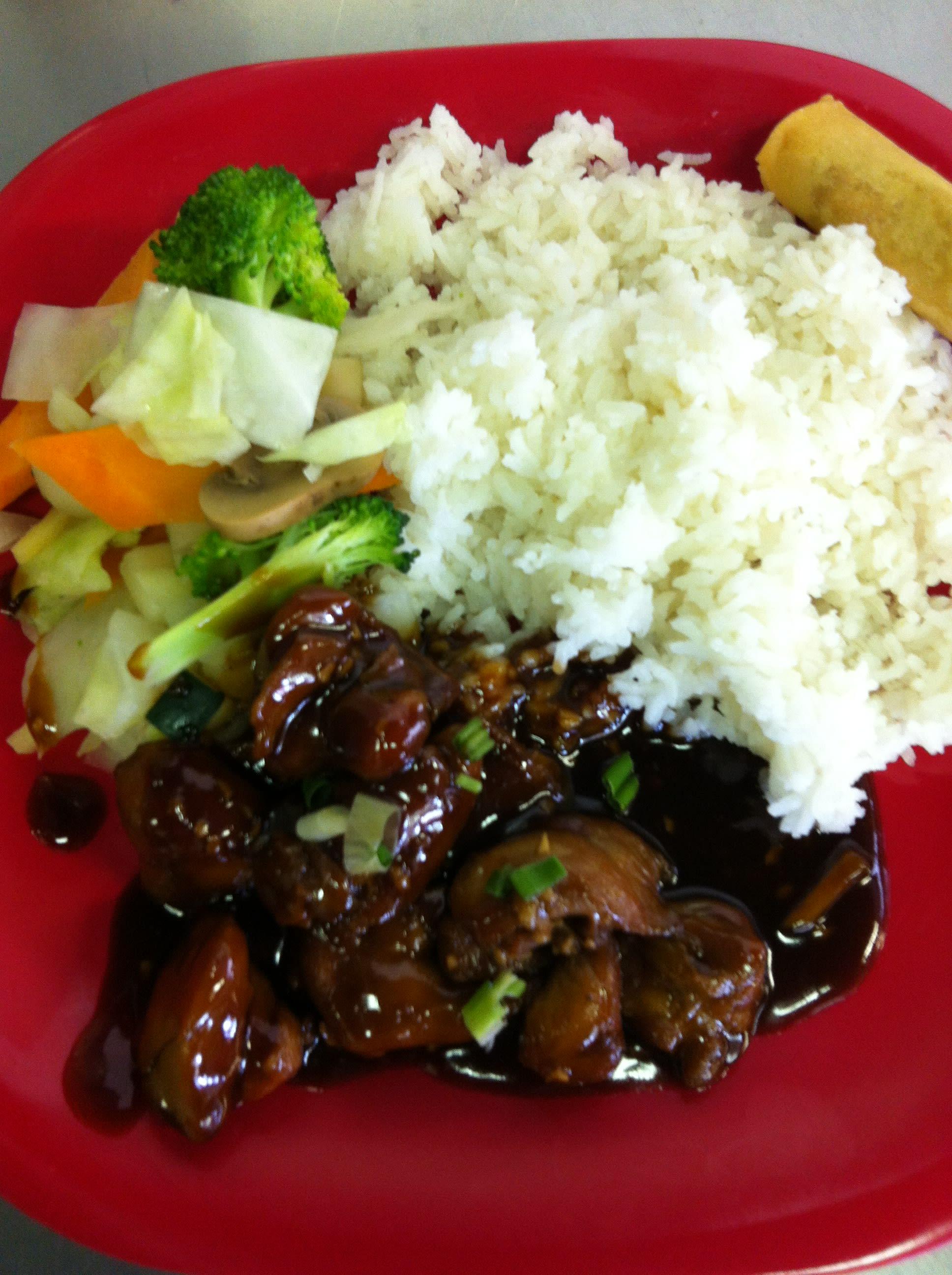 Teriyaki Chicken at Uncle Chien's Chinese & Thai Restaurant