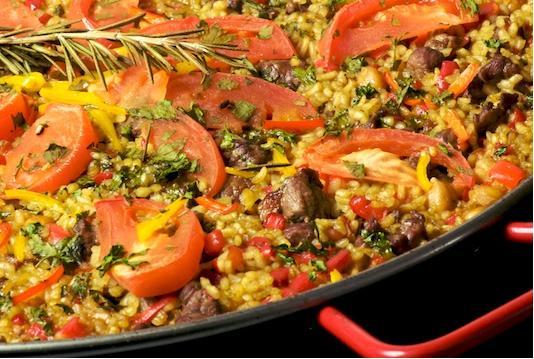 Paella at Dagabi Cucina