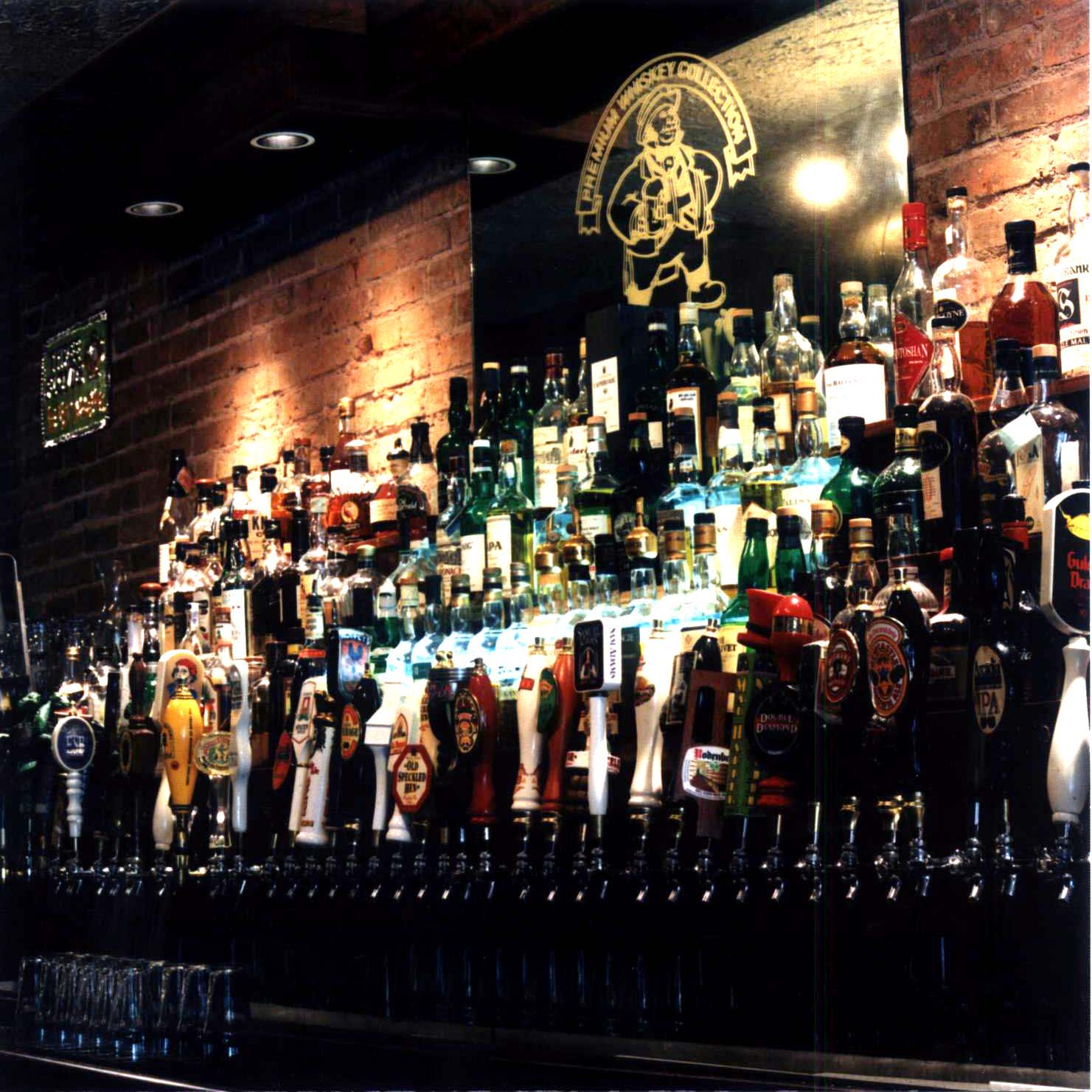 Ashley's Taps and Premium Whiskey Collection at Ashley's Restaurant