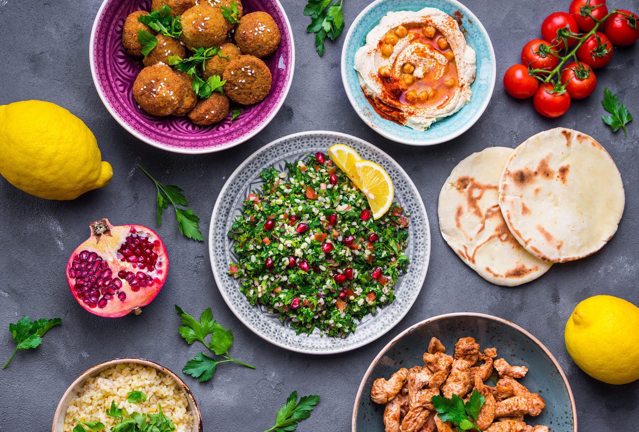 Photo at Yalla Organic Hummus & Grill