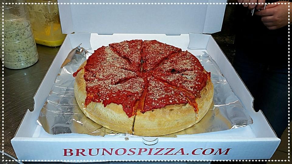 Photo at Bruno's Pizza