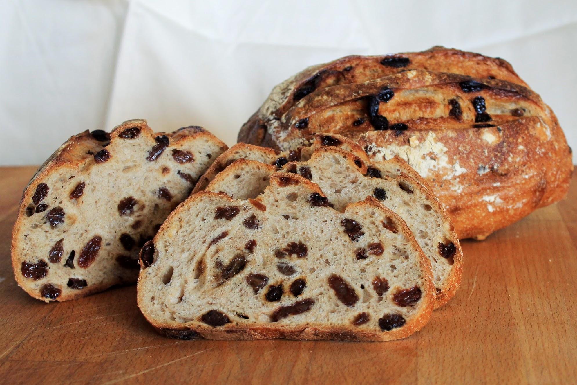 Corktown Cinnamon Raisin Bread at Avalon Bakery