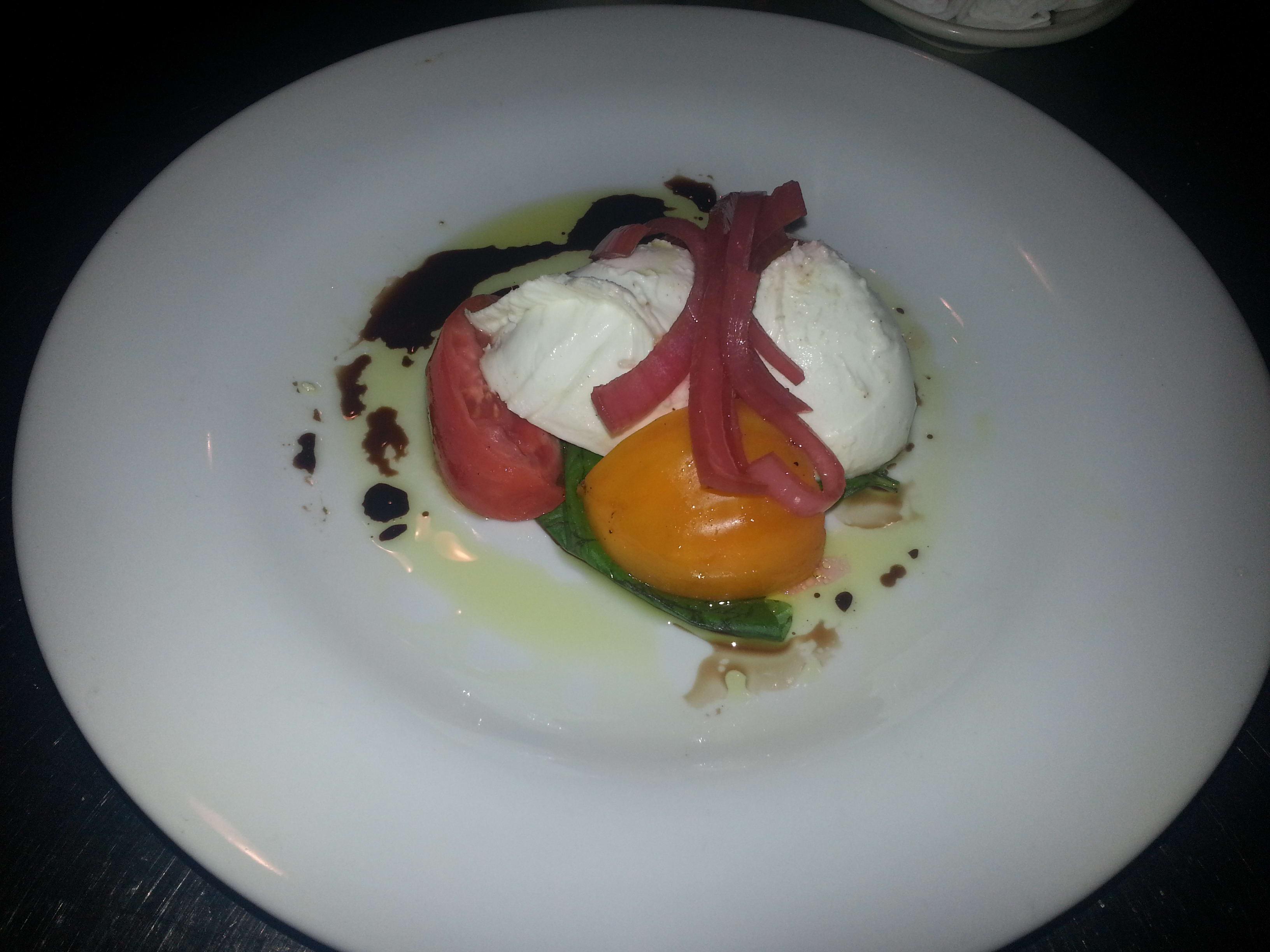 Mozzarella di Bufala at 32 East
