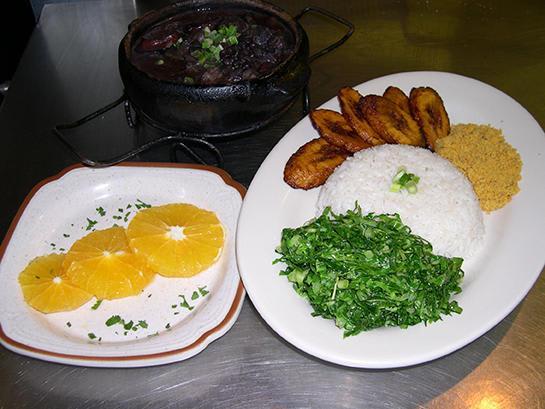 Feijoada (Brazilian National dish) at Muqueca