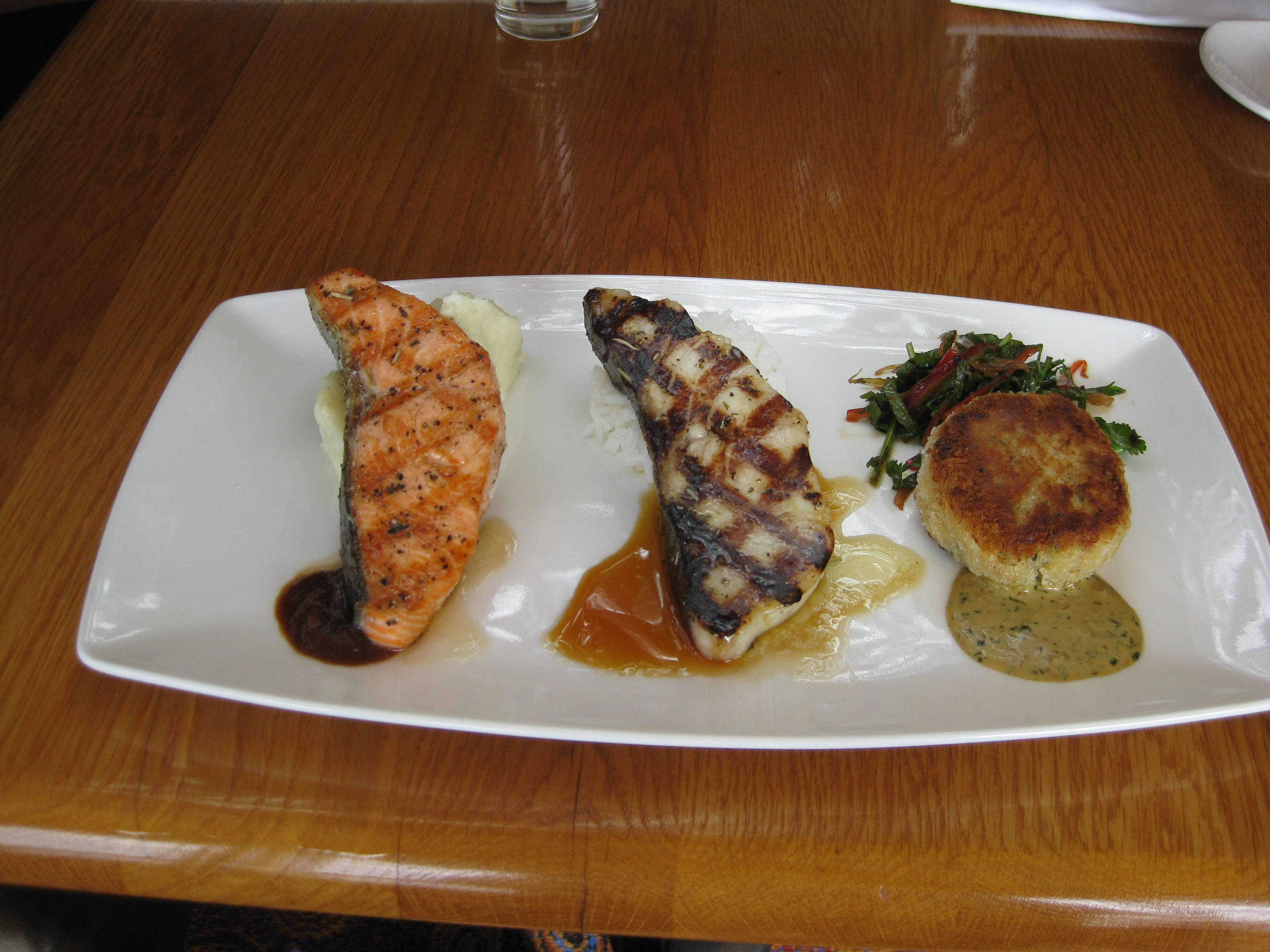 Classic Sampler at Ray's Boathouse Restaurant, Cafe & Catering