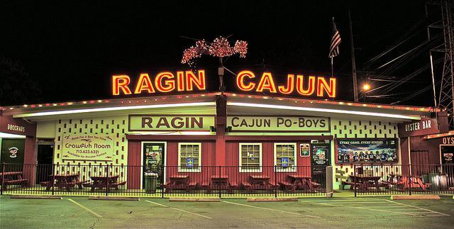 """The Original"" Est. 1974 at Ragin' Cajun Seafood"