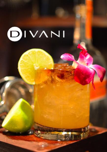 Donn Beachcombers Mai Tai: white rum, orange curacao, orgeat syrup, fresh lime, dark rum float 9 at Bar Divani