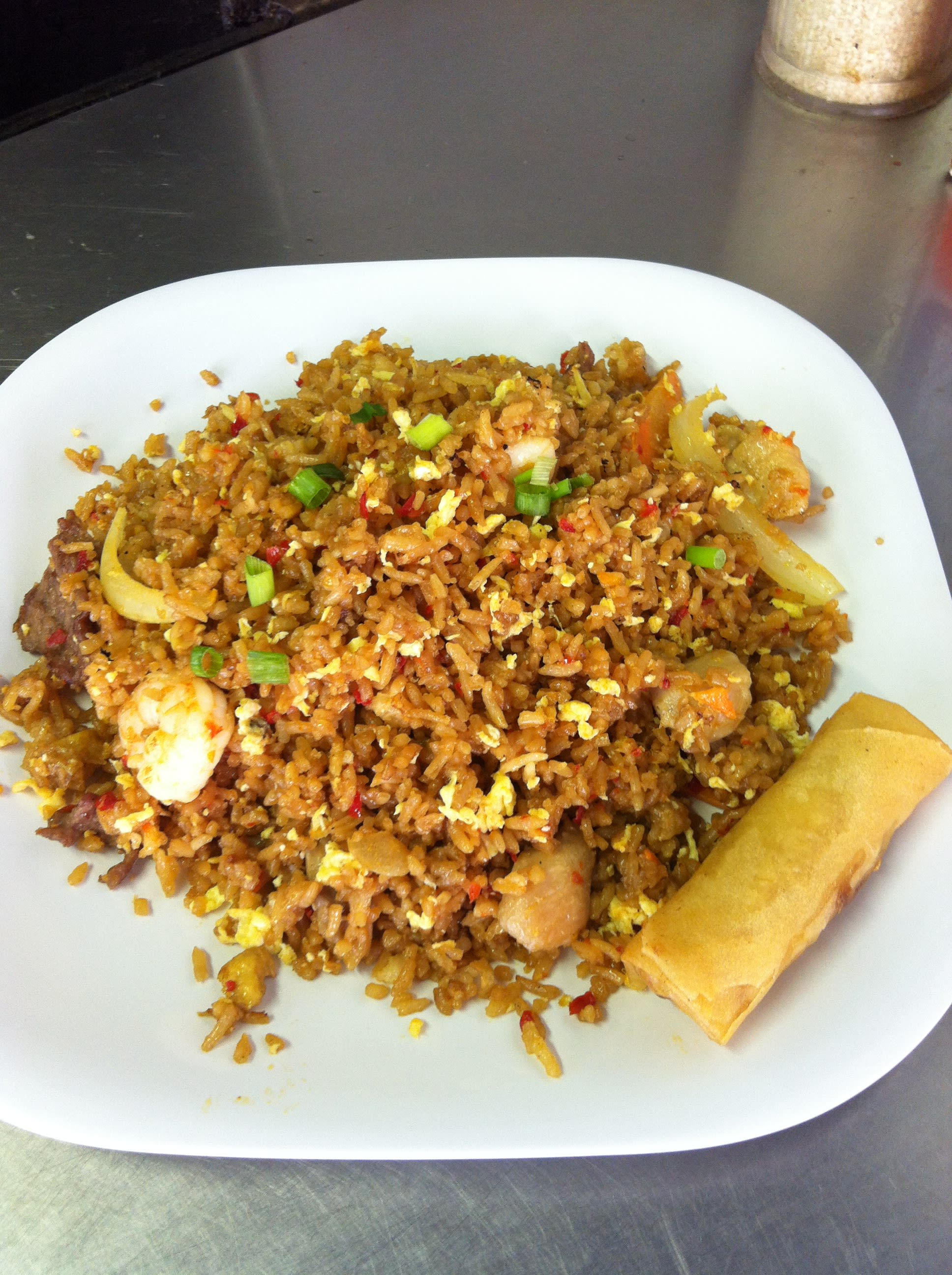 Chicken Fried Rice at Uncle Chien's Chinese & Thai Restaurant