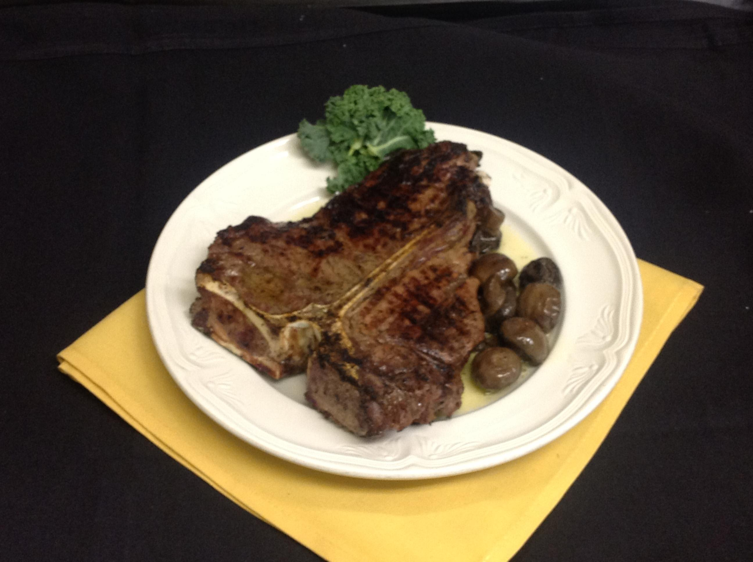 24oz Porterhouse at Palmers Steakhouse
