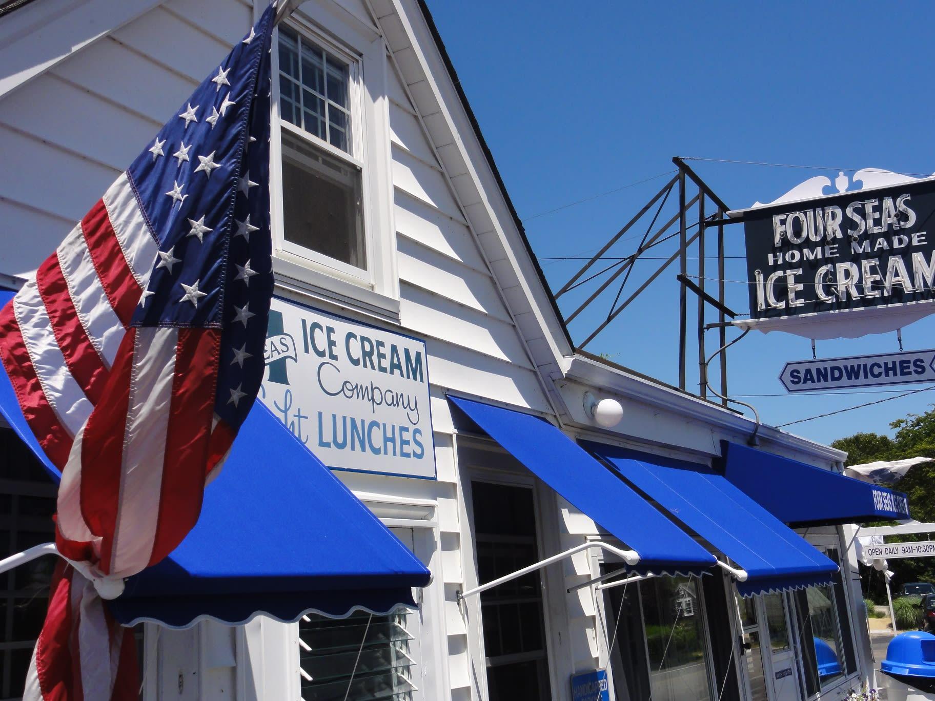 Four Seas Ice Cream at Four Seas Ice Cream
