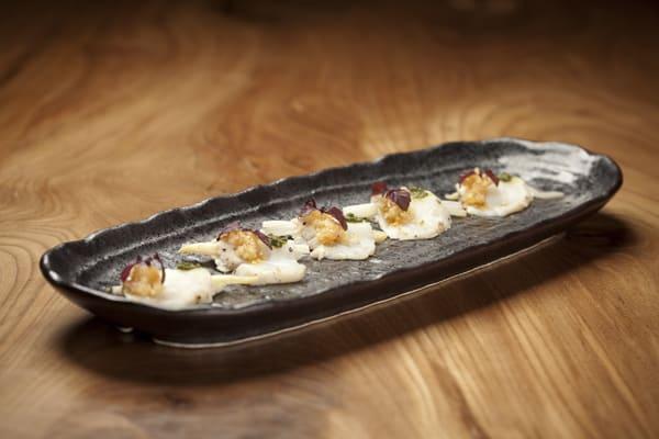Butterfish Tataki at Roka Akor Restaurant