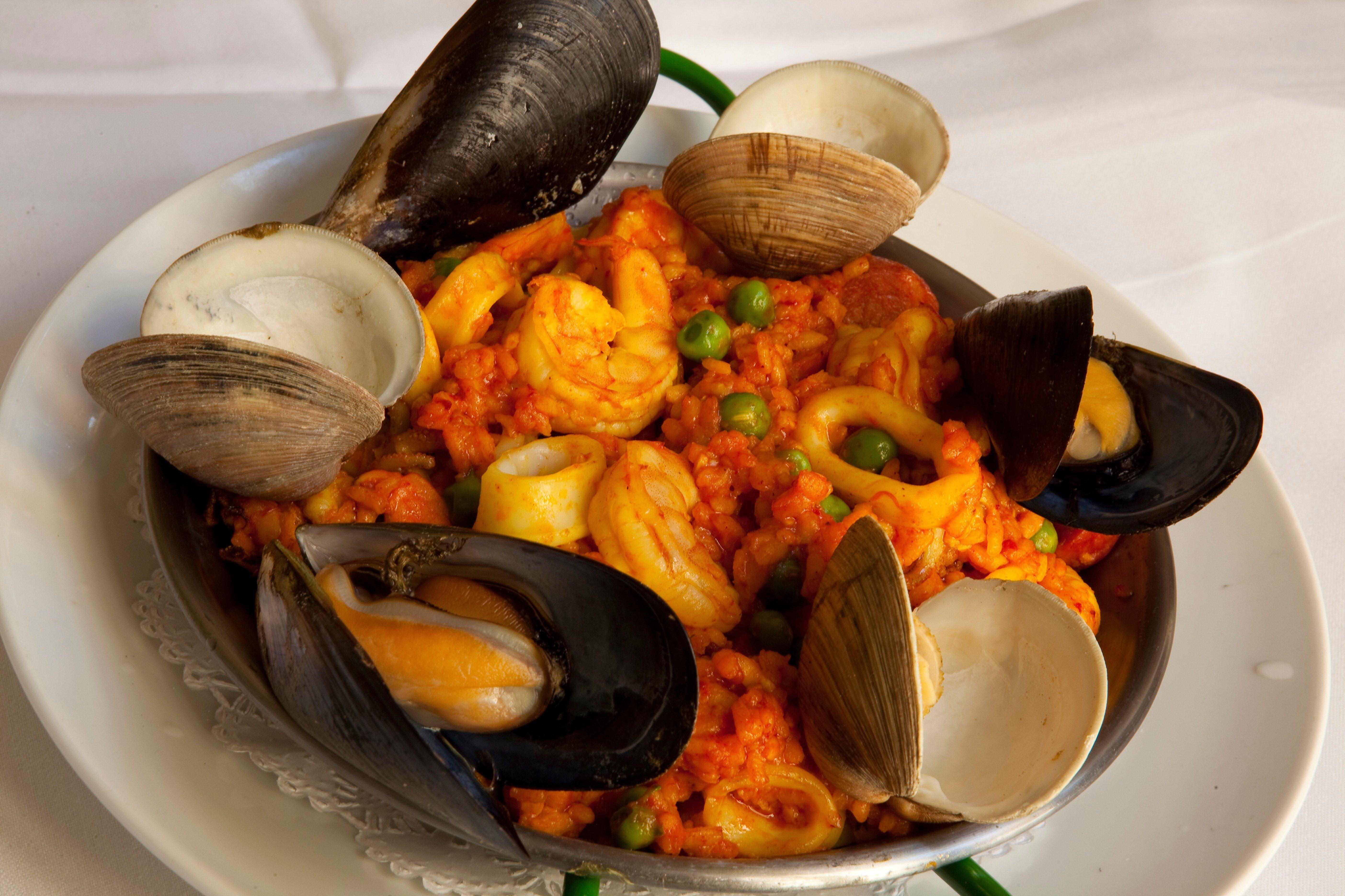 The Best Paella in town! at Catalan Restaurant
