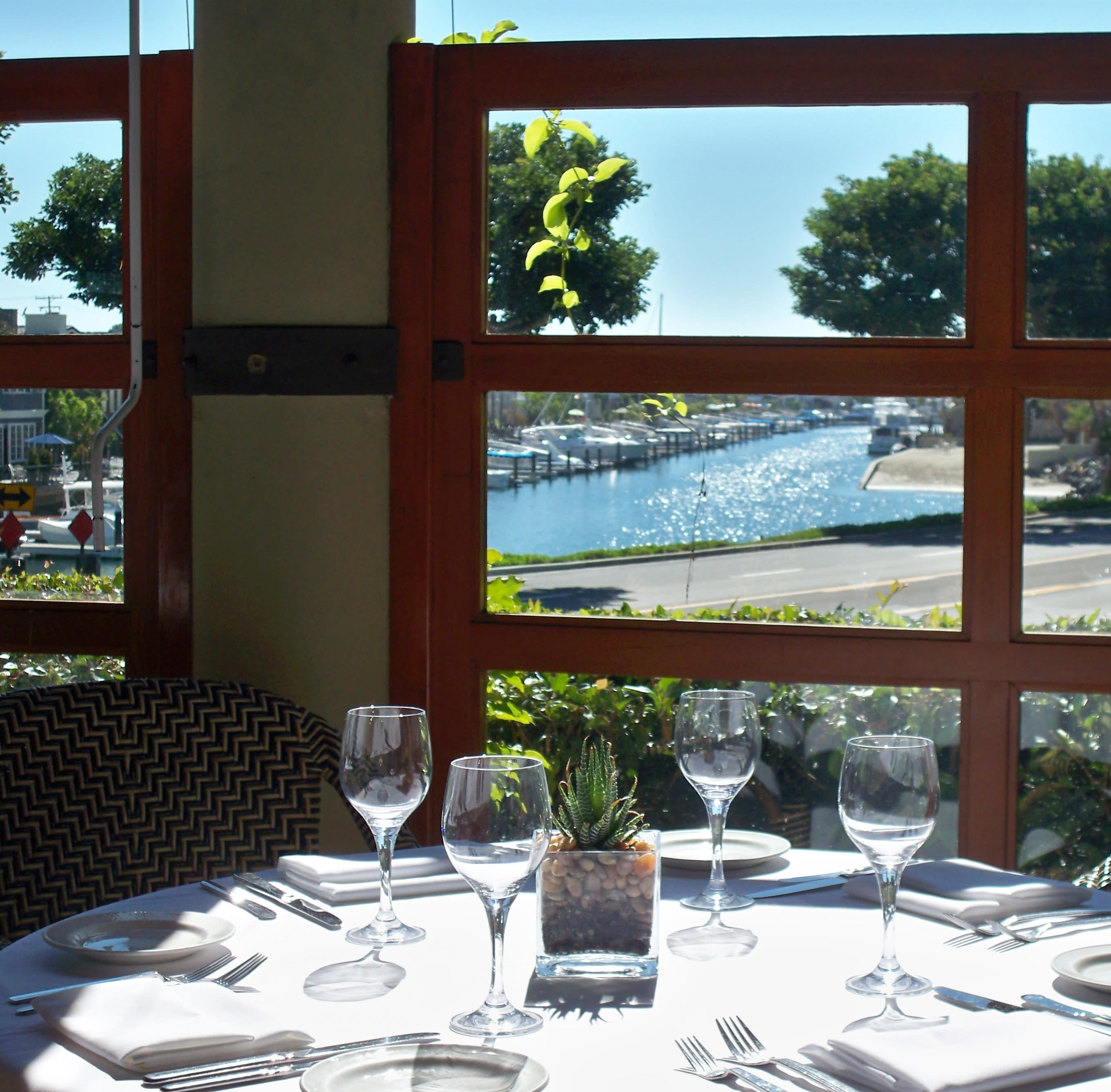 Terrace with a View at Bayside Restaurant