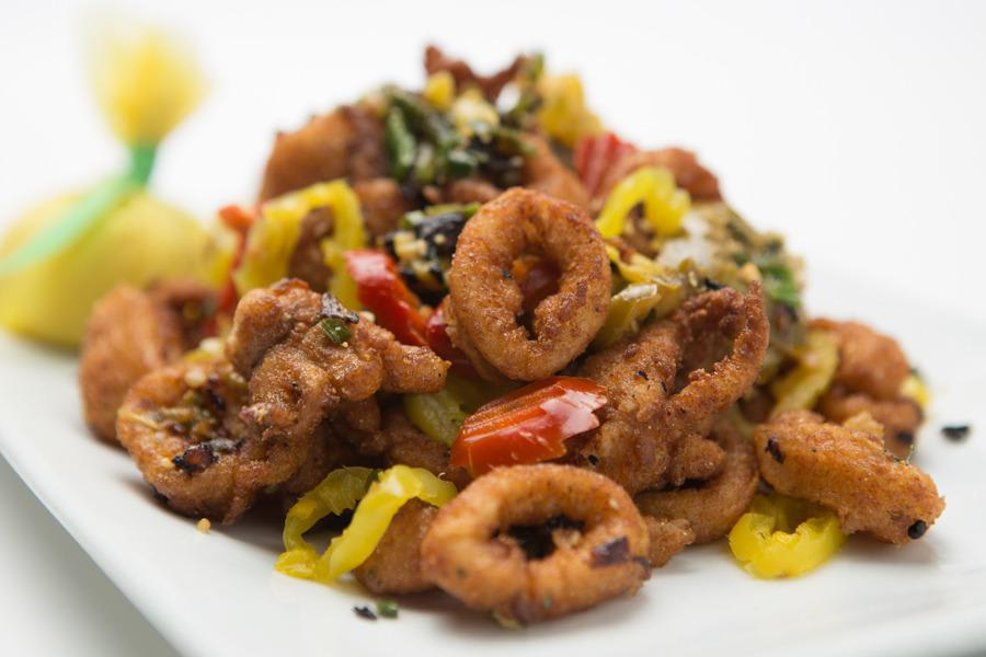 Cherry Pepper Calamari at Perry's Steakhouse – Park Meadows