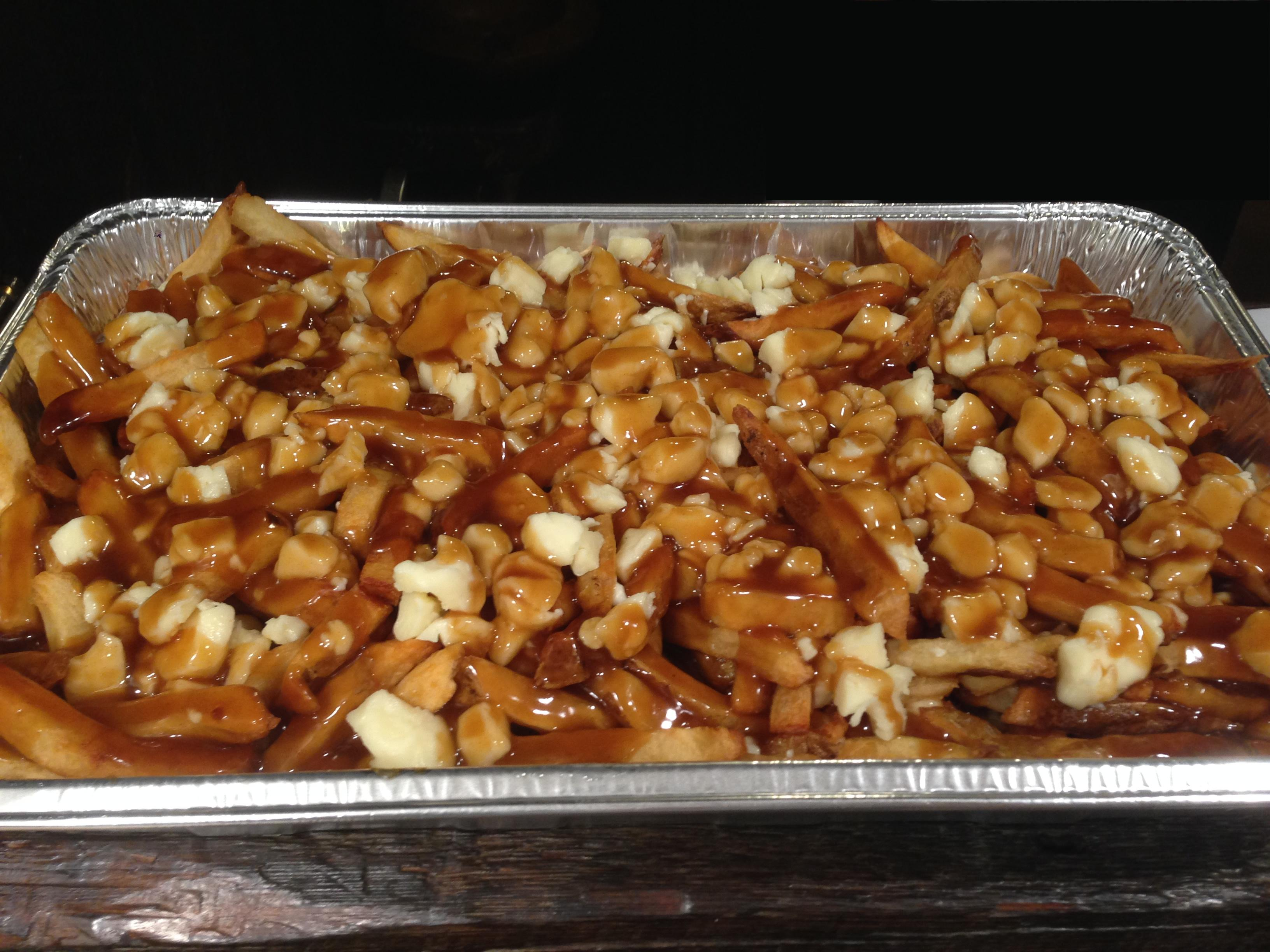 Poutine Party Platter at Pommes Frites