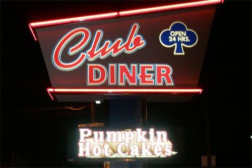 sf at Club Diner