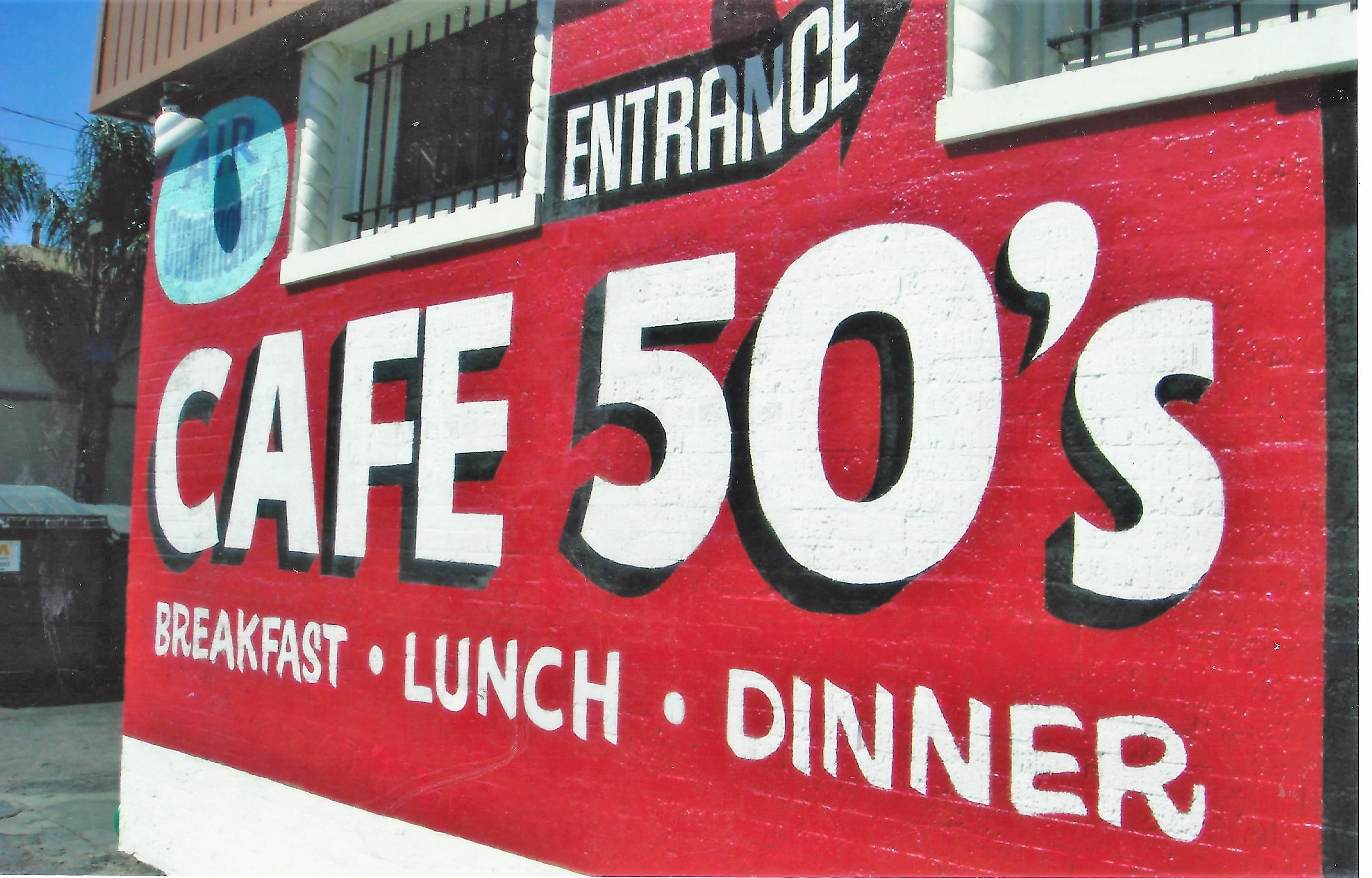 Photo at Cafe 50's