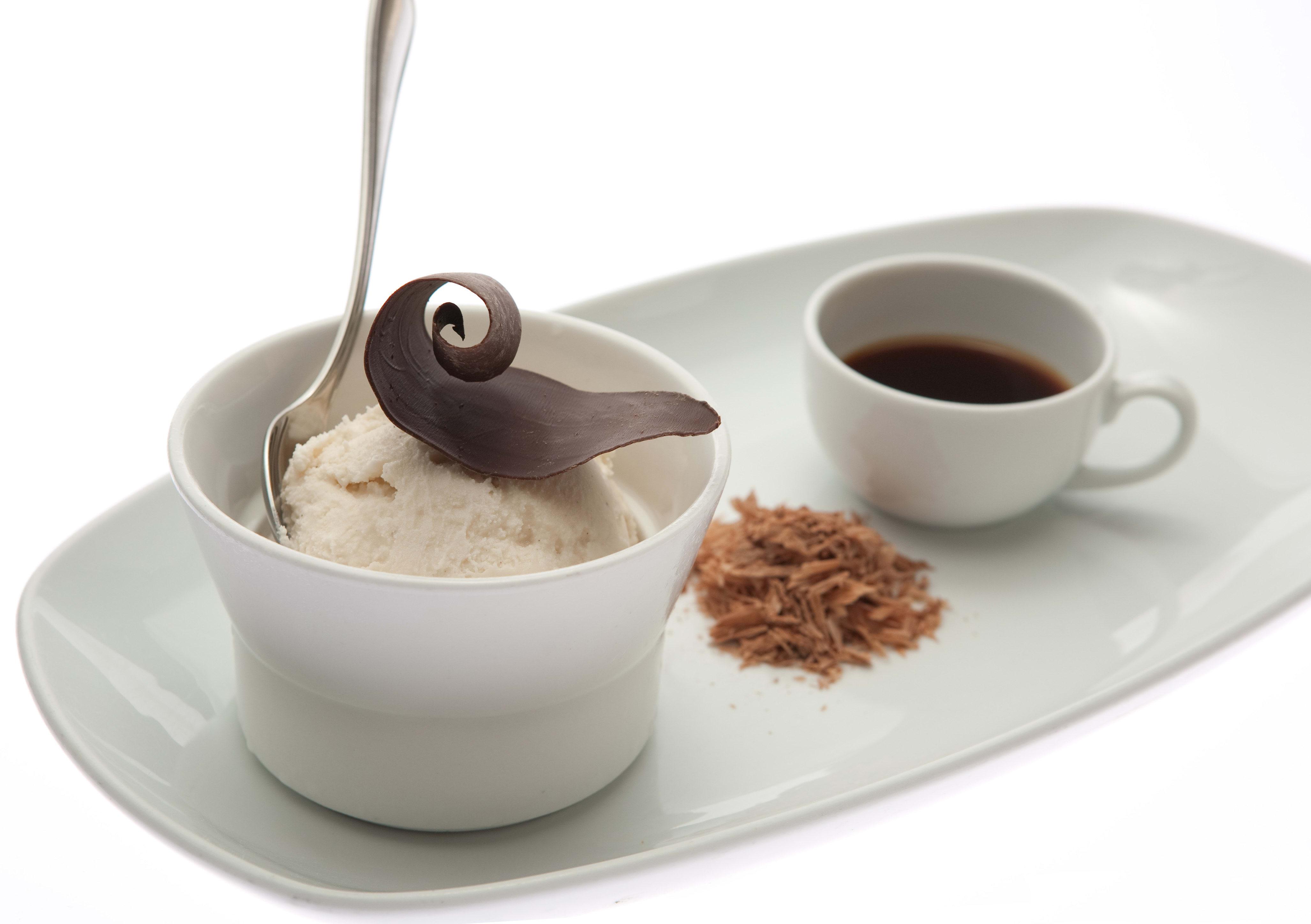 Affogato al Cioccolato at TusCa