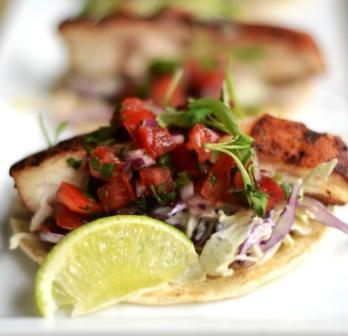 Baja Fish Tacos at Hotel Indigo San Diego