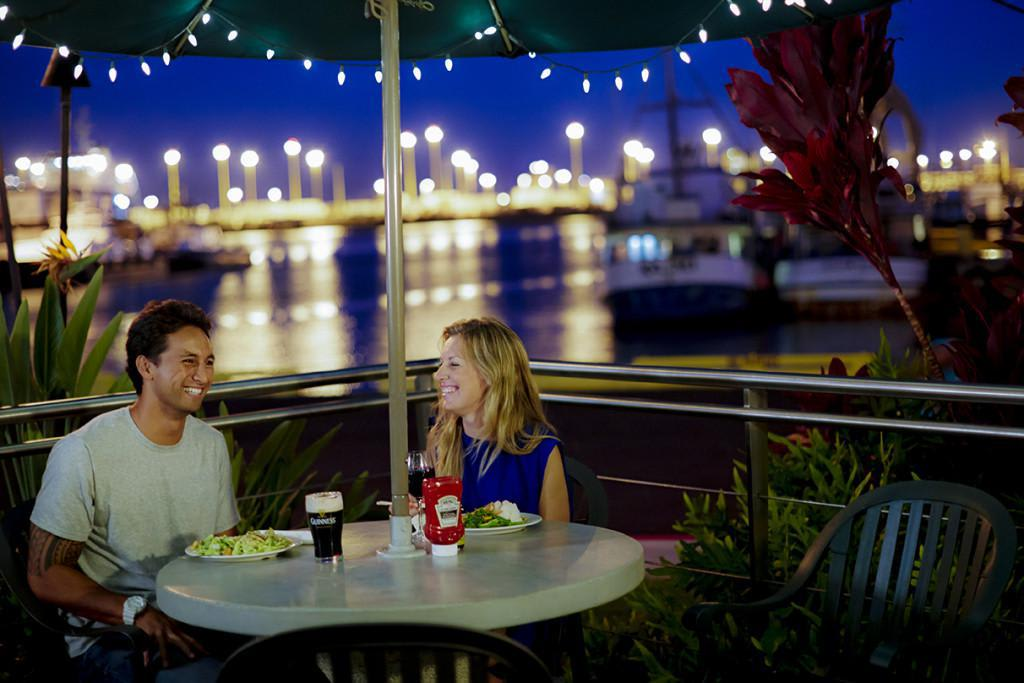 Dinner with a view? Yes please! at Nico's at Pier 38