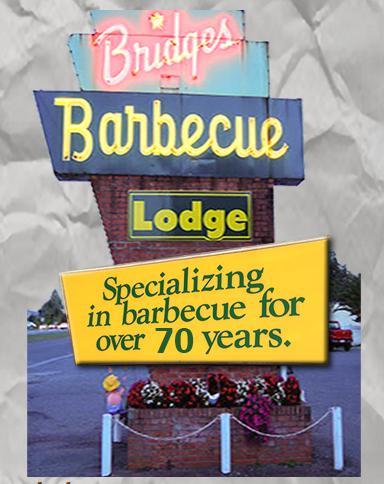 Photo at Bridges Barbecue Lodge