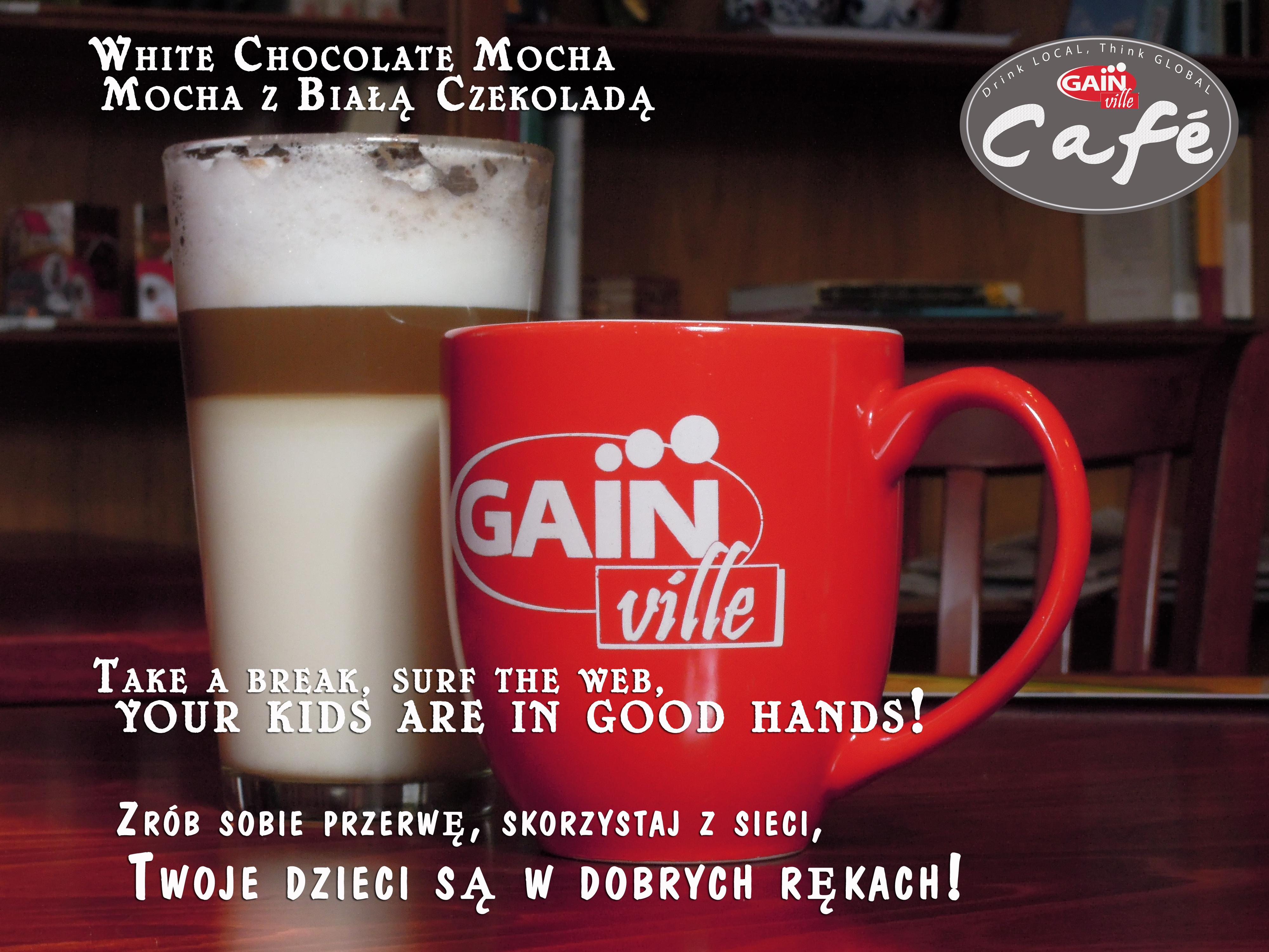 White Chocolate Mocha at GainVille at Gainville Learning Center and Cafe