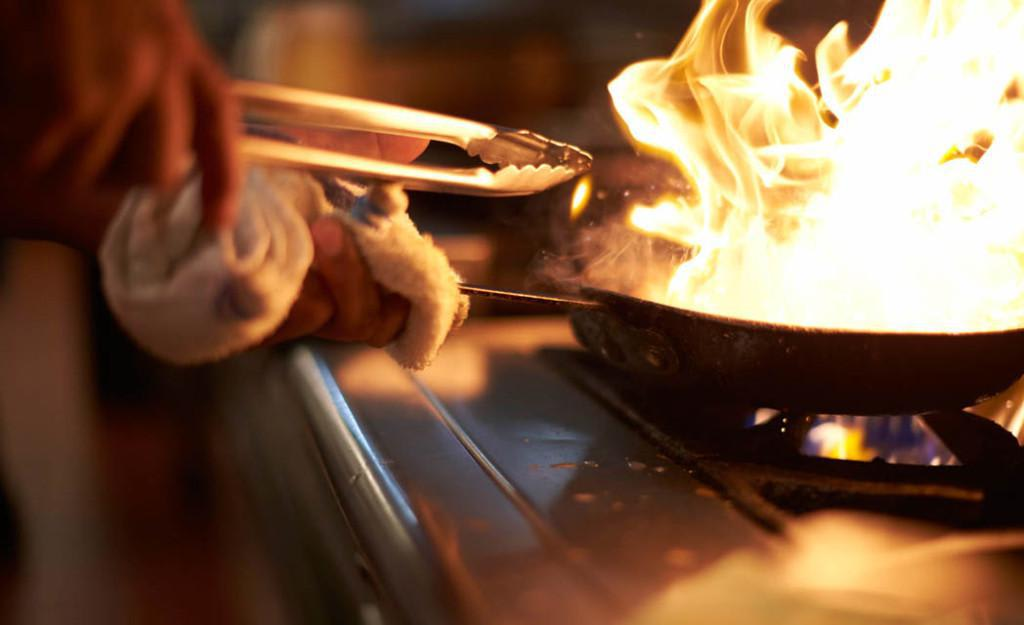 Always cooked to order. Come check us out at dinner time! at Nico's at Pier 38