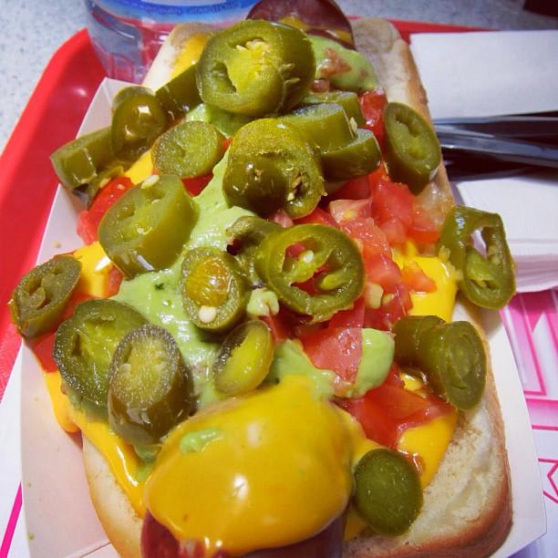 Photo at Pink's Hot Dogs